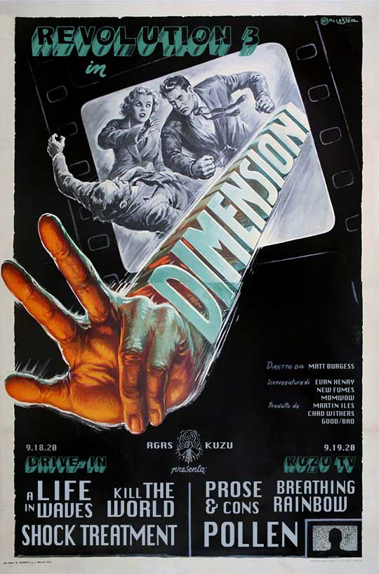 Rubber Gloves and KUZU Present Revolution 3